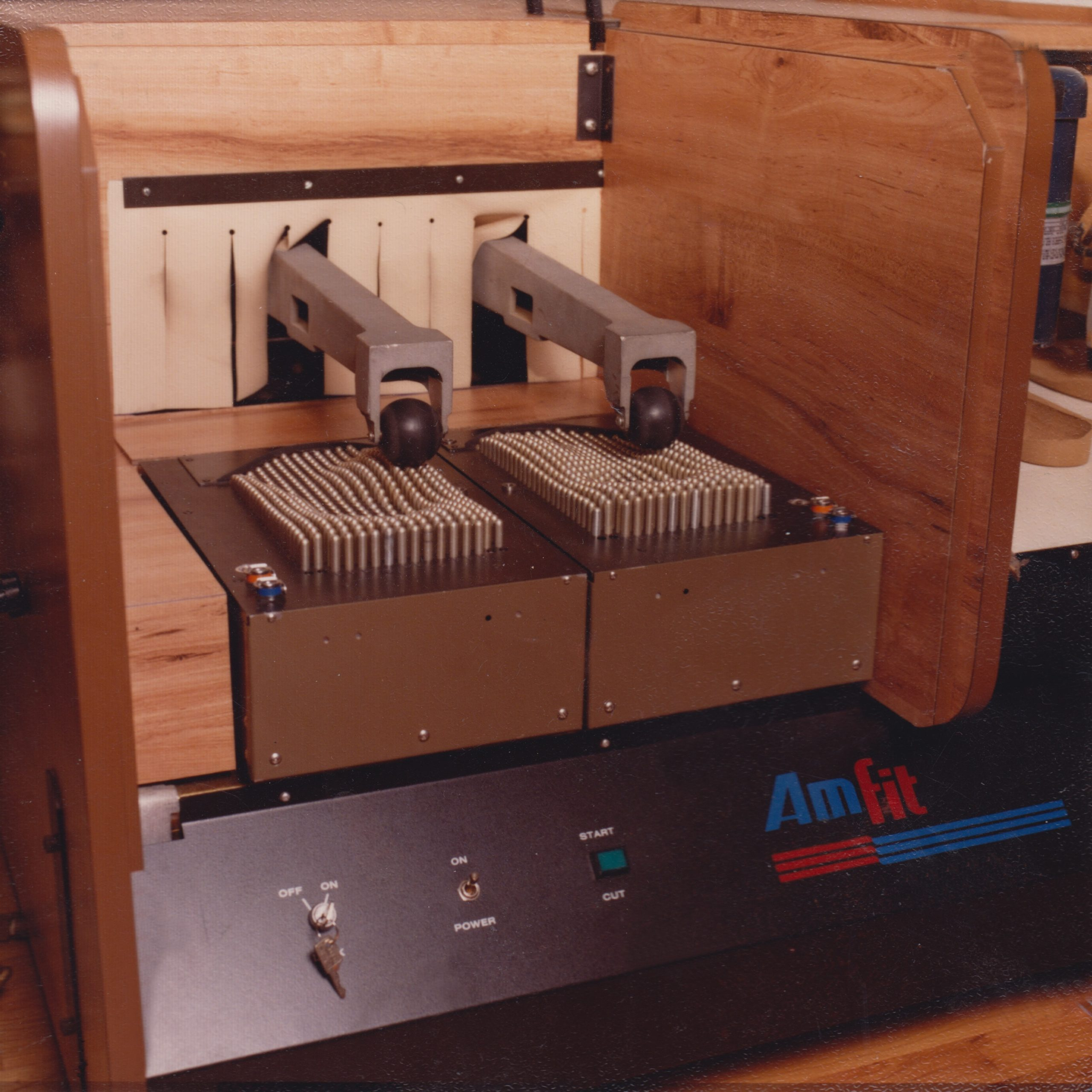 Image depicting Amfit Milling Machine Circa 1980